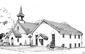 Church Drawing 300